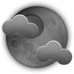 Partly cloudy with adjacent showers